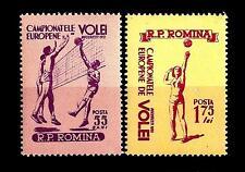 ROMANIA - 1955 - Campionati europei di pallavolo, Bucarest