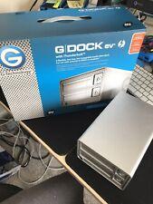 G-Technology G-DOCK ev Thunderbolt Enclosure - selling as an Empty enclosure