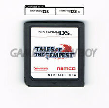 Tales of the Tempest ENGLISH Translation Nintendo DS Custom Cartridge RPG