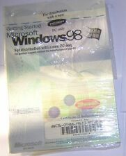 Microsoft Windows 98 COA/Product Key and Printed Getting Started Guide