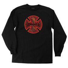Independent Trucks Coil Long Sleeve Skateboard Shirt Black Xxl