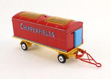 CORGI 1123 Chipperfields Circus Animal Cage Zikus Wagen Anhänger F183