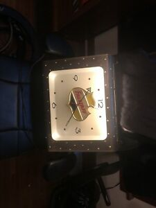 Vintage Mid Century Falstaff Lighted Stars Modern Beer Clock