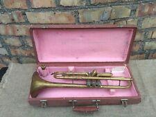Vintage USSR Brass Pipe Tuba Case 1968