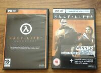 Half-Life 1 Anthology  ** RARE GAME ** & Half Life 2 (PC). Free UK Postage