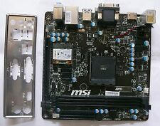 MSI am1i scheda madre 7865-001r AMD Athlon am1 Mini-ITX 2x ddr3 SATA 6 HDMI WLAN