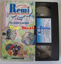 film VHS cartone REMI  NR. 12 2 EPISODI DE AGOSTINI 2004 (F9)  no dvd