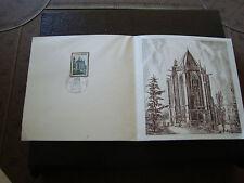FRANCE - document 1er jour 19/6/1971 (sainte-chapelle de riom) (cy16) french
