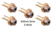5mw laser diode 650nm 5 pack great for science projects