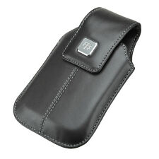 Genuine Original BlackBerry 9500 cuir pivotant holster hdw-18969-001 - NEUF
