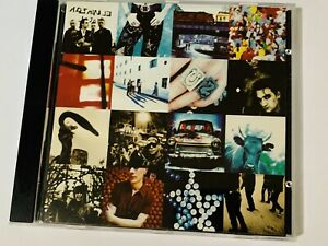 U2 ACHTUNG BABY CD 1991 ISLAND RECORDS LTD