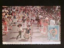 NEDERLANDSE ANTILLEN MK 1969 KARNEVAL ARUBA MAXIMUM CARD MC CM c8291