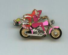 Disney Shopping Roger & Jessica Rabbit Biker Motorcycle Le 250 Pin & Card