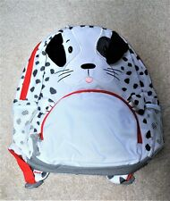 Lands' End Kids' White Puppy Backpack