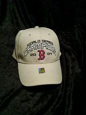 Boston Red Sox New Era 2004 World Series Champions OSFA Strap Cap Hat rare