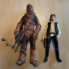 "Star Wars Black Series 6"" Han Solo & Chewbacca"