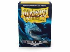 Deck Dragon Shield Matte Sleeves Night Blue (100 Bustine Blu Scuro) 63x88mm