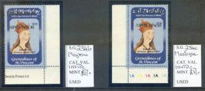 St. Vincent Gren. Mayreau & Mustique Islands 50c inverted ovpt. (2021/02/21#05)