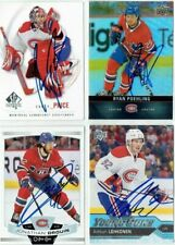 """CAREY PRICE autographed SIGNED '09/10 MONTREAL CANADIENS """"SP Authentic"""" card #5"""