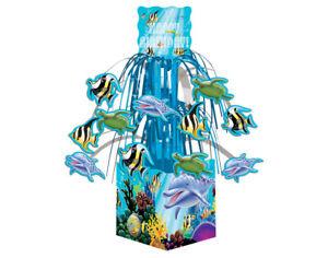 Ocean Party Cascade Table Centrepiece - Sealife Party Decorations