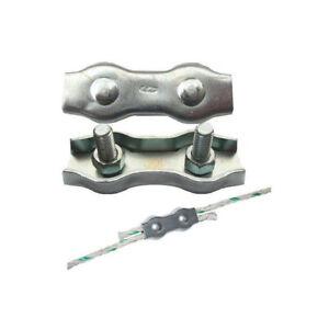 5 Stück Seilverbinder ,bis 6 mm,neu/ EDELSTAHL