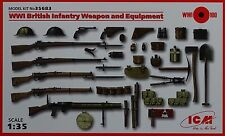 ICM 35683 WWI British Infantry Weapon & Equipment in 1:35