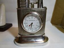 Alfred Dunhill Longitude -Table Lighter with recessed Clock 1239/1300