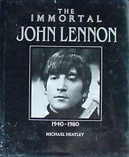 JOHN LENNON - IMMORTAL J.LENNON 1940-1980- HARDBACK, DJ