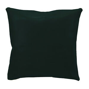 pe246a Deep Green Faux Leather Classic Pattern Cushion Cover/Pillow Case Custom