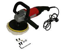 Pulitrice/lucidatrice elettrica 1200W con disco 180mm e cuffia di pulitura in la