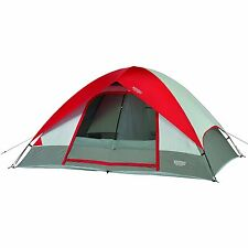 Wenzel 36497 Pine Ridge 5 Person Tent, Ideal For Smaller Families In Red New