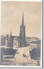 Sweden; Stockholm, Riddarholmskyrkan RP PPC, Unposted, c 1950 Riddarholm Church