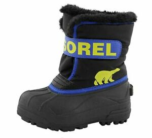 Sorel Unisex Baby Toddler Shoes 4 UK Child Snow Commander Boot