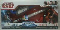 Star Wars Bladebuilders Jedi & Sith Mode 2 in 1 Path Of The Force Lightsaber