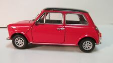 Welly Mini Cooper 1300 Red Coupe Car 1:24 Scale Diecast dc2392