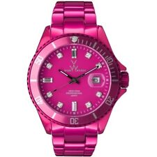 Pink ToyWatch Metallic Crystal Watch #ME06PS
