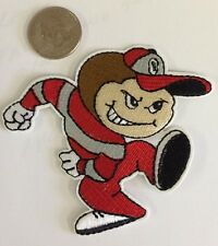 "Ohio State Buckeyes Running Brutus Embroidered Iron On Patch  3"" X 3"" Nice!"