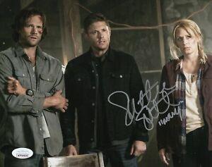 "Samantha Smith Autograph Signed 8x10 Photo - Supernatural ""Mary"" (JSA COA)"