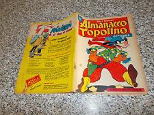 ALMANACCO TOPOLINO 1956 N.39 MONDADORI WALT DISNEY (SI TRATTA DEL N.1) M.BUONO