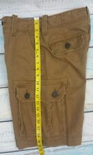 American eagle Men's Classic Cargo Shorts Size 26 Gold