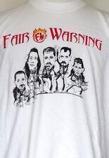 Fair Warning German Rock Band Millennium Meltdown 2000 White T-Shirt XL