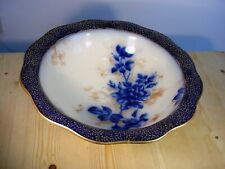 Doulton Burslem Art Nouveau Flow Blue Wash Basin A2361