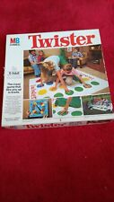 Vintage 1970's MB Games TWISTER Family Party Game (1978) Original Packaging