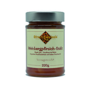 Marmelade Konfitüre von Streuobstwiesle Weinbergpfirsich-Gsälz - 220 g