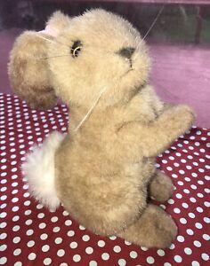 "Applause Jack Rabbit Plush. ""Chestnut"" brown bunny stuffed animal"