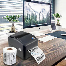 Shipping Label printer USB Direct thermal barcode w/ 4x6inch 350 labels Win, Mac