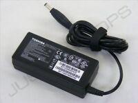 Véritable Original Toshiba 19V 3.42A 65W Adaptateur Alimentation AC Chargeur PSU
