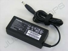 Genuino Original Toshiba 19V 3.42A 65W AC Adaptador Cargador de Fuente de alimentación PSU