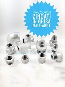Raccorderia acqua tubo zincato 1/2 raccordi zincati raccordo idraulico filettato