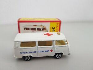 Majorette 244 VW Fourgon Ambulance, in Paper Box